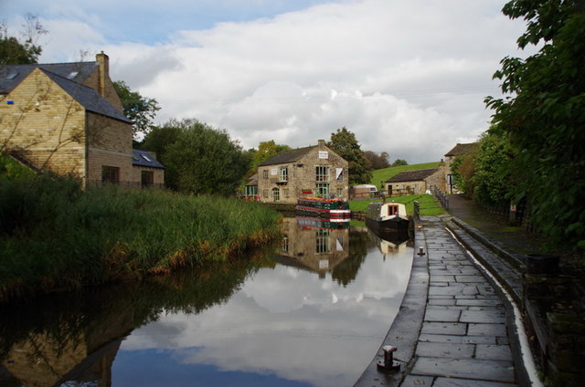 Leeds & Liverpool Canal at Foulridge Wharf
