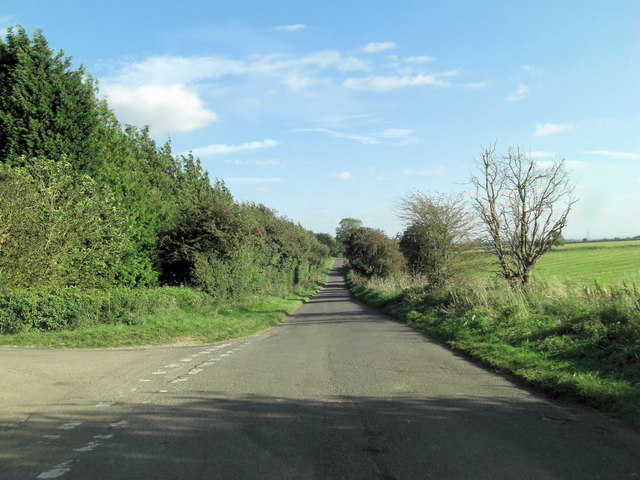 Eastington Road east of Upper End Farm