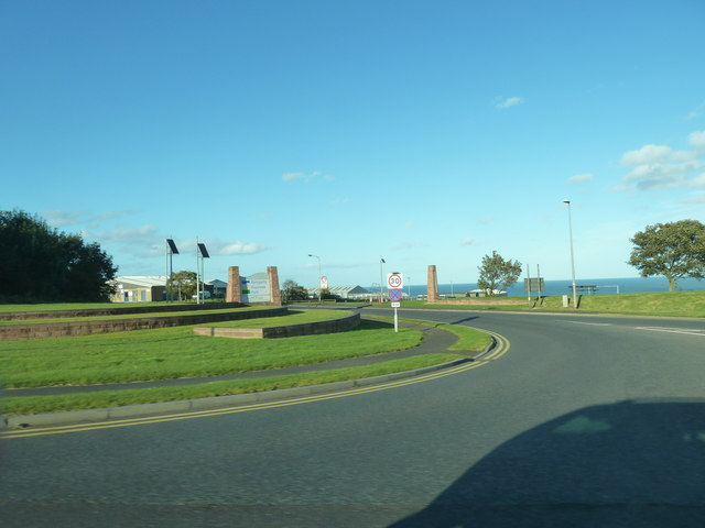 Turning for Windmill Way from the roundabout