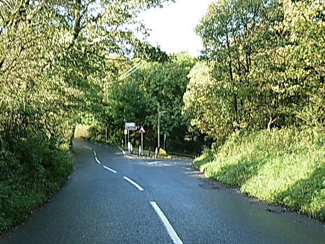 Junction of High Lane and Moor Lane