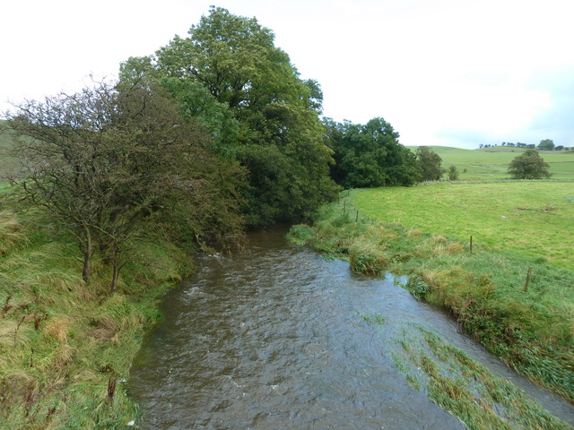 Stock Beck upstream of Horton Bridge