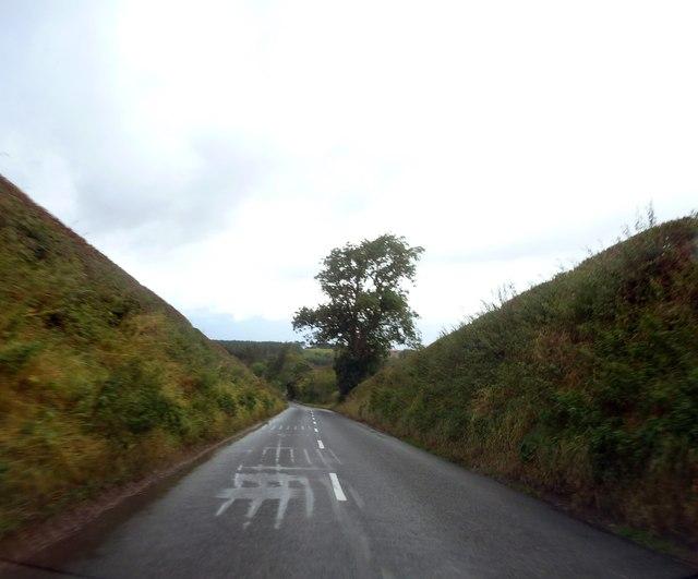 B6352 west of Blakelaw
