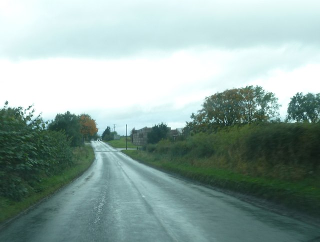B6352 heading for Kelso