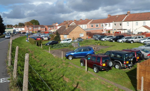 Cars in the cabbage patch, Bridgwater