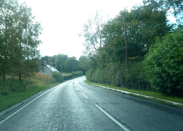 A698 and Cleuchfoot Cottage