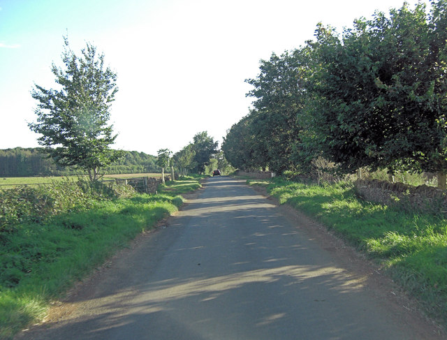 Unnamed road passes Swire Barton