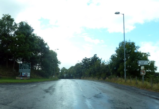 A698 by junction of A6088