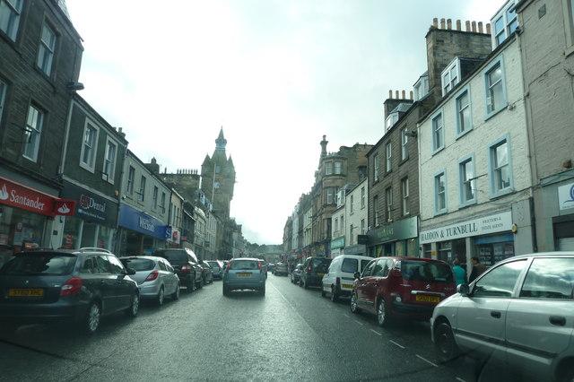 High Street, Hawick