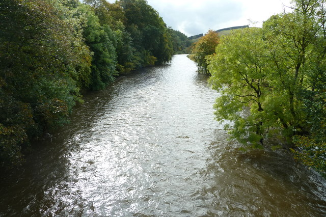 River Teviot from Martin's Bridge