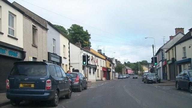 Main Street. Lisnaskea