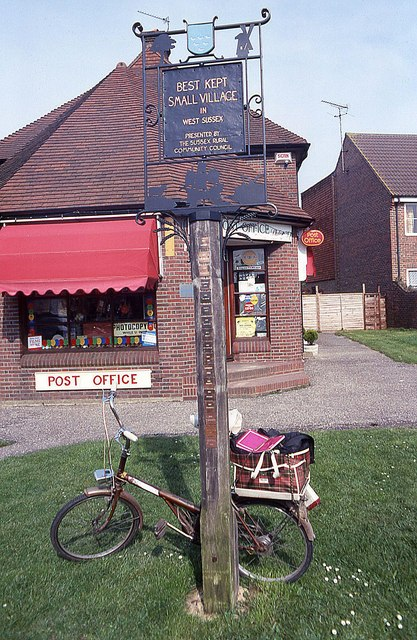 Best Kept Small Village sign for Cowfold