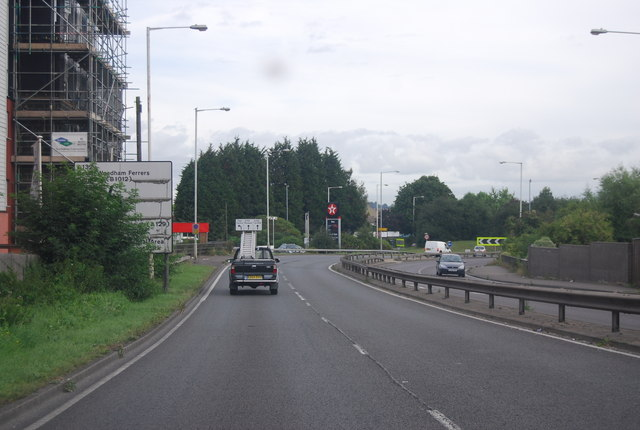 A132, northbound