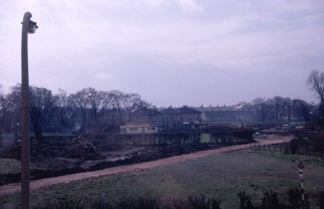Construction of Forest Hall Bridge, 1963