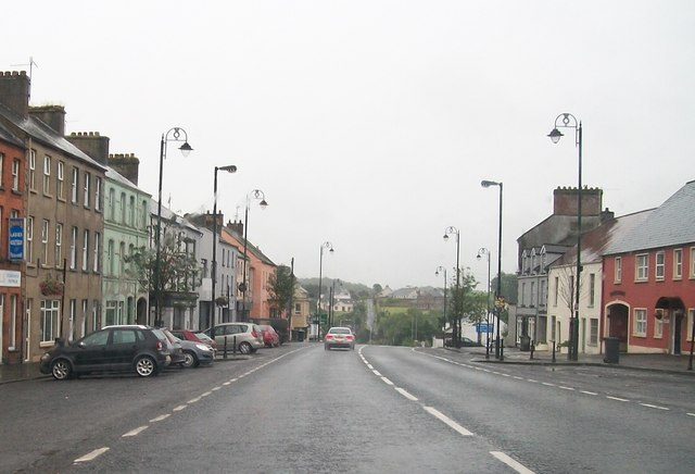 The lower end of Moore Street, Aughnacloy