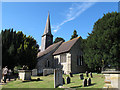 TQ3947 : St George's church, Crowhurst by Stephen Craven