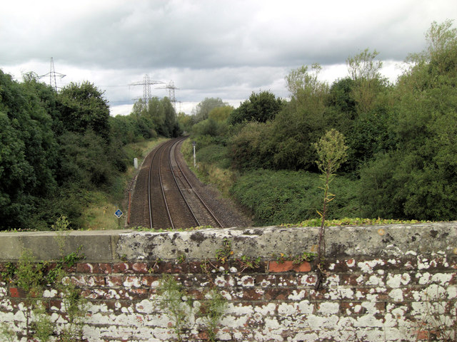 Redbridge to Romsey railway line