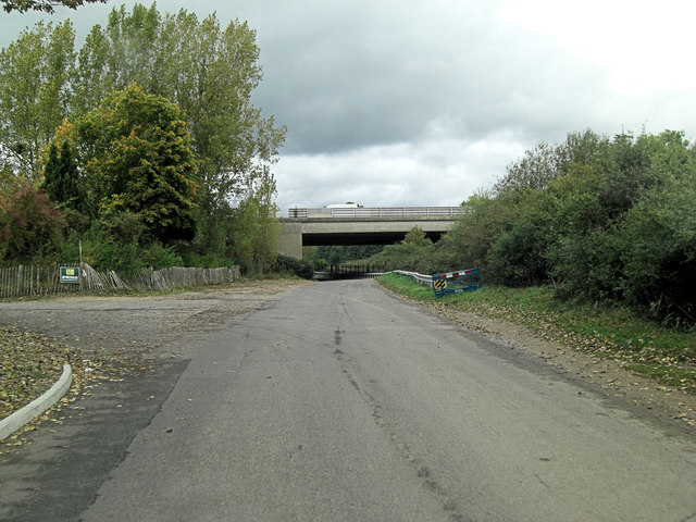 M27 overbridge at Nursling