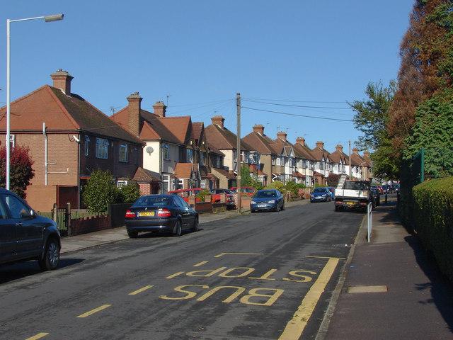 Hewens Road, Hayes End