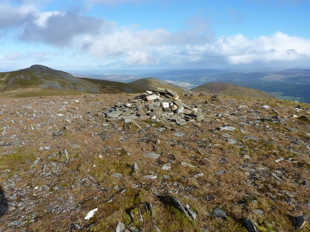 Meall na Aighean - the West Top