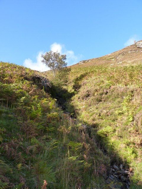 A nameless gully above Glen Lyon