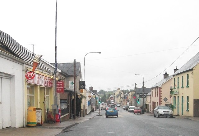View south along Main Street, Emyvale