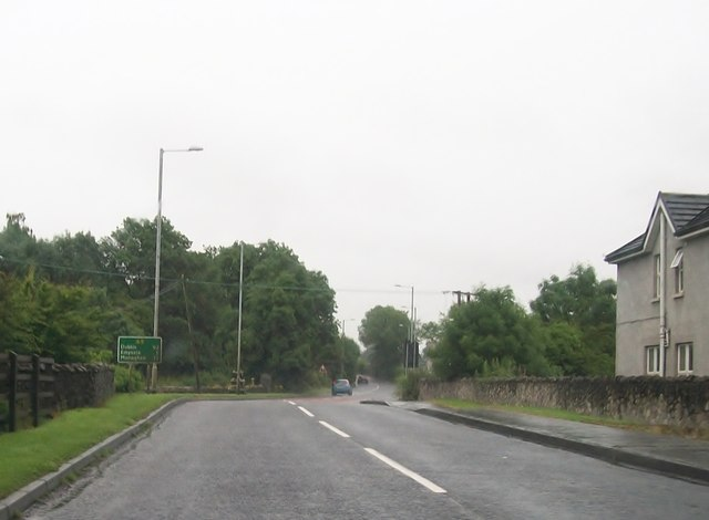The A5 south of Aughnacloy