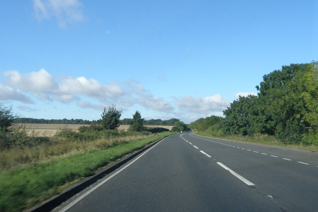 York  Road  the  A1079  west  of  Bishop  Burton
