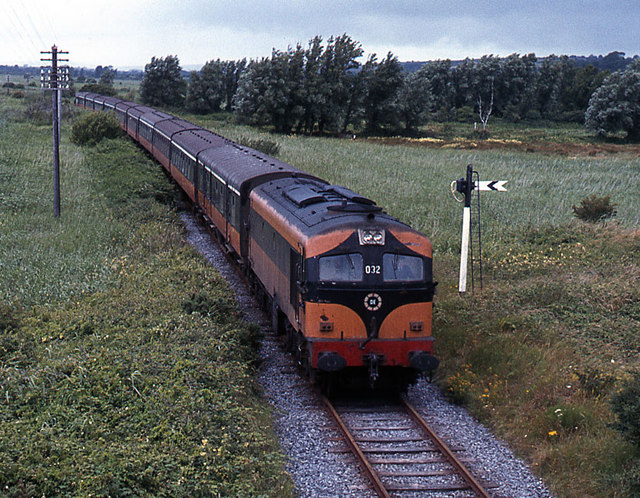 Special train approaching Youghal