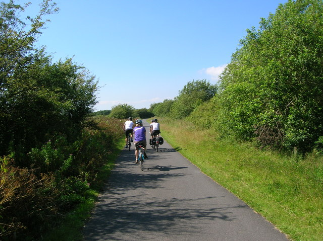 National Cycle Network Route 4, Millennium Coastal Park