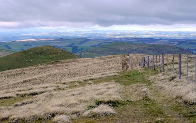 Pennine Way above Whitelaw Nick