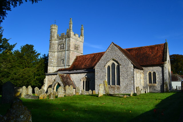 All Saints church, Barton Stacey