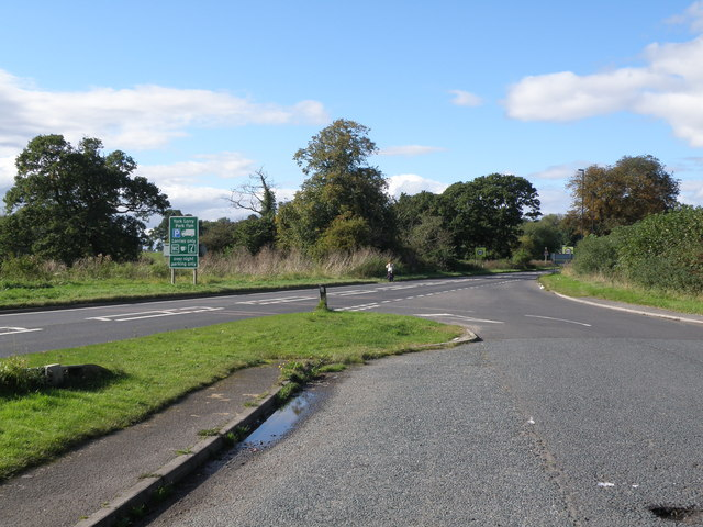 A1079  towards  Grimston  Hill  and  York
