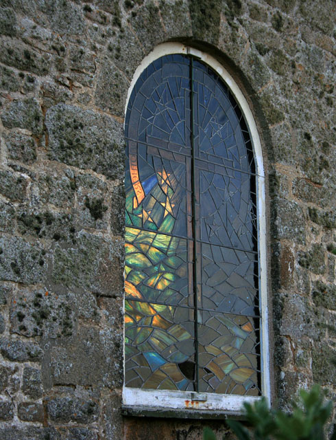 St Agnes Church; stained glass