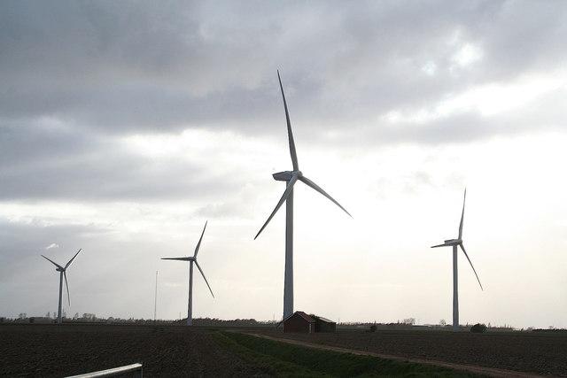 Red House Wind Farm, Gedney Marsh 2007