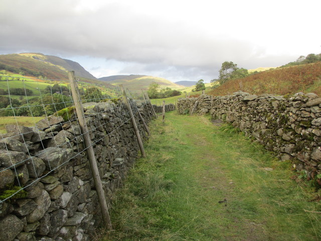 Route to Wansfell Pike