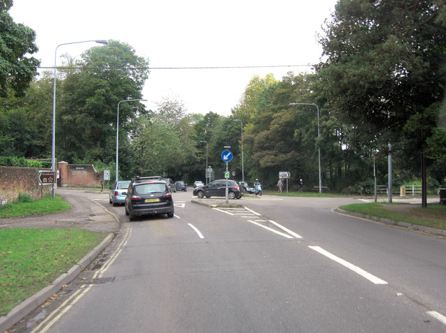 A27 junction with Palmerston Street