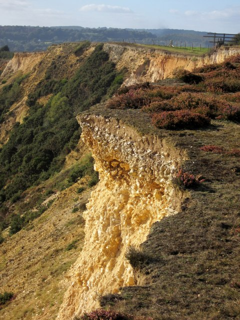 Cliff edge, Stonebarrow