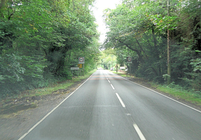 A27 enters Shootash