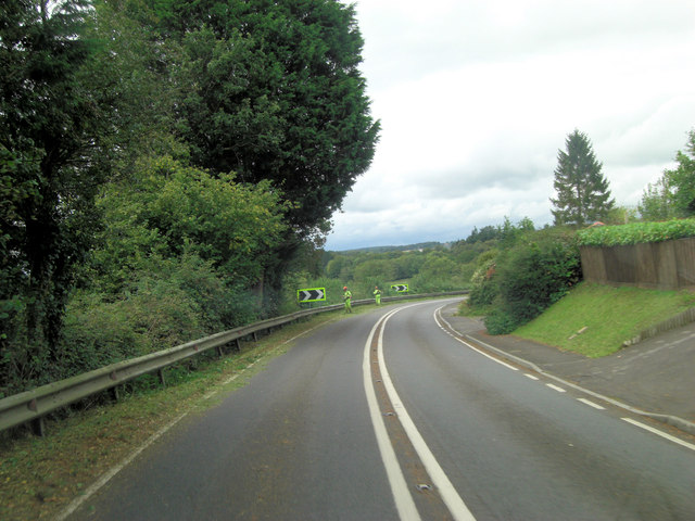 A27 north of Little Shootash Farm