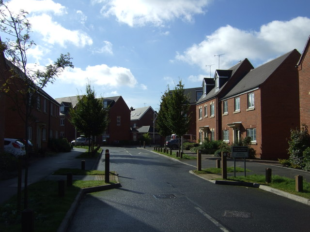 New housing, Brittain Lane, Myton