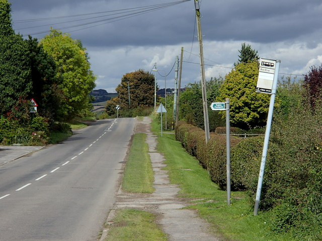Ford Road, looking north