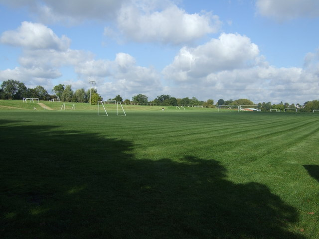 Sports fields off Hampton Road
