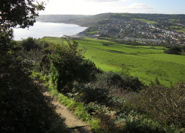 Coast path to Charmouth