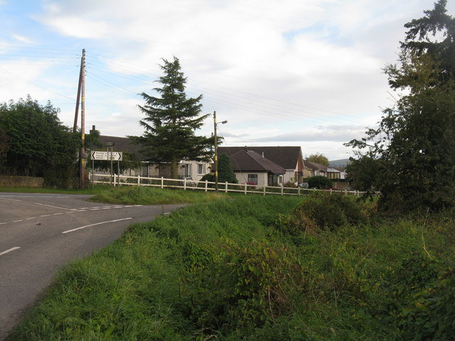 Road junction at Stanley