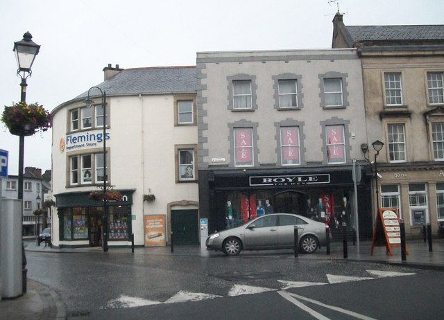 Stores in The Diamond, Monaghan