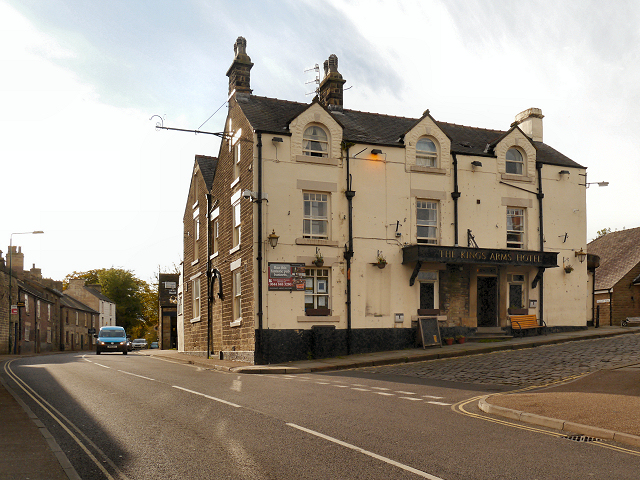 The Kings Arms Hotel, Chapel-en-le-Frith