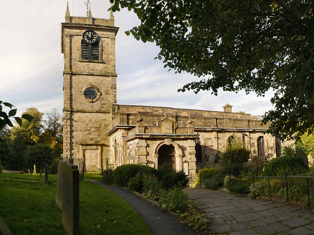 Chapel-en-le-Frith, the Church of St Thomas Becket