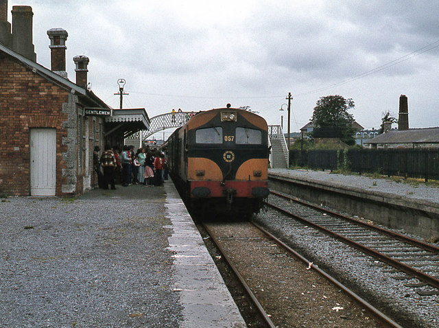 Special train at Midleton station