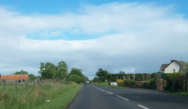 The A35 east of Pettigo