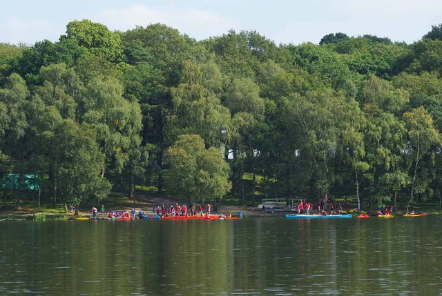 Scouts on Tatton Mere